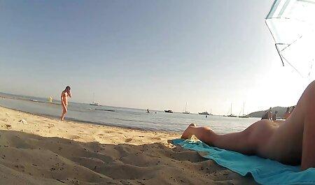 Plavuša kreće u privatnu penis joga porno turneju